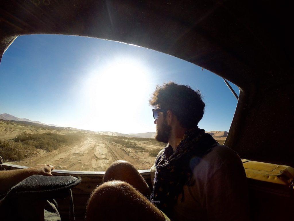 journey in NAMIB DESERT