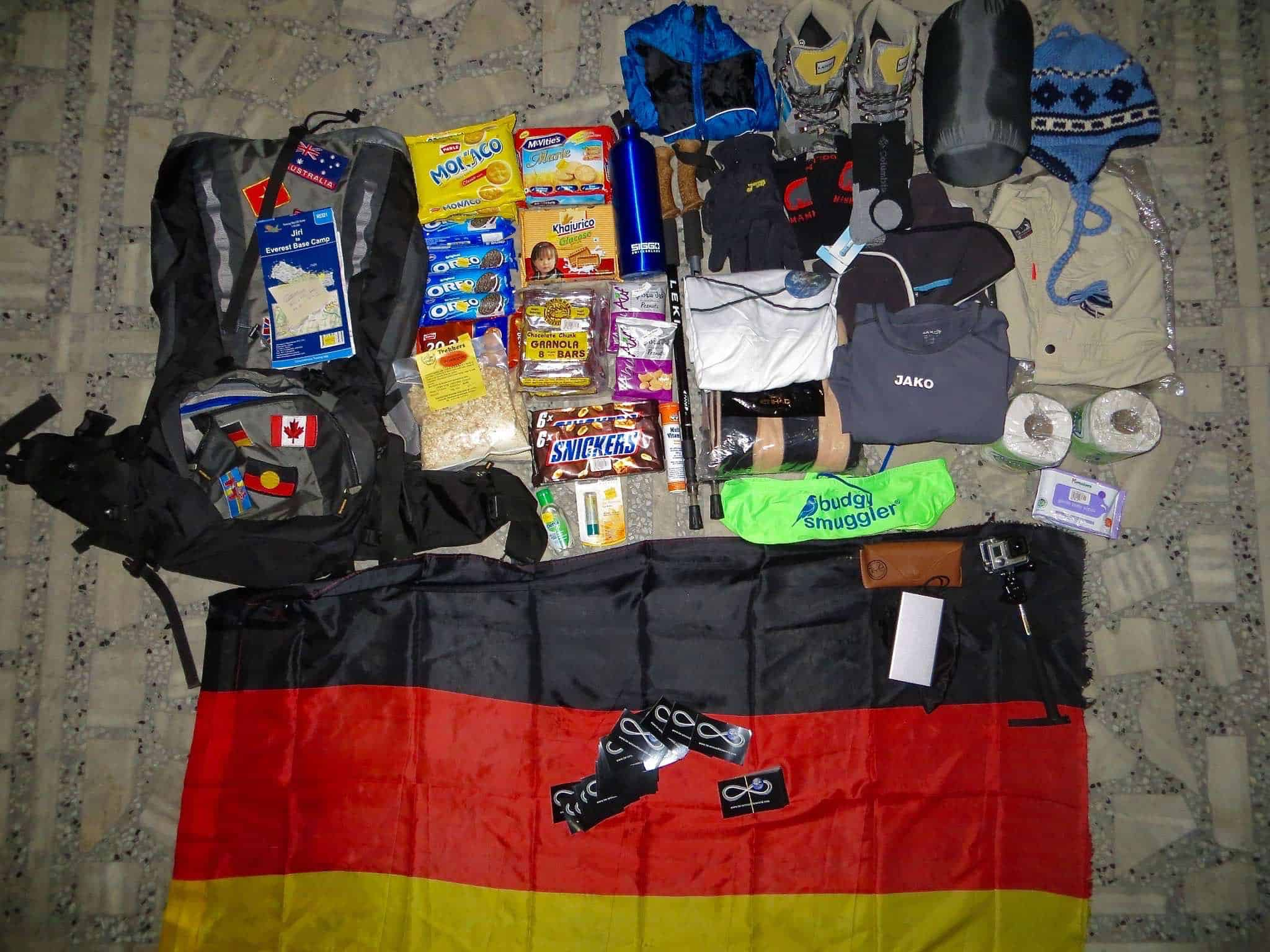 packing-himalaya-trekking