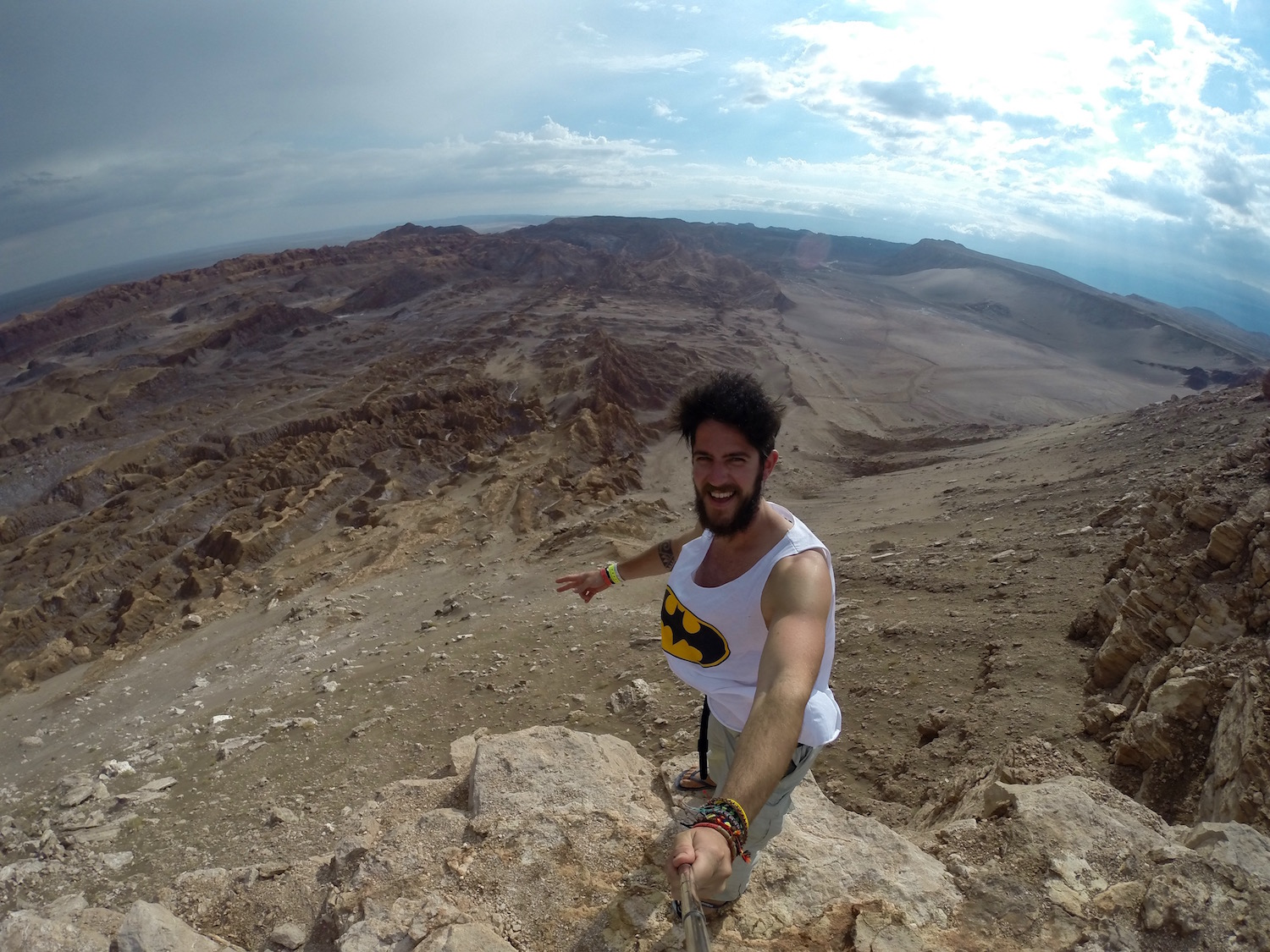 I TRAVEL FOREVER in Valle de la Luna in the Atacama Desert in Chile