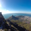 Cape Town in South Africa - view from Table Mountain