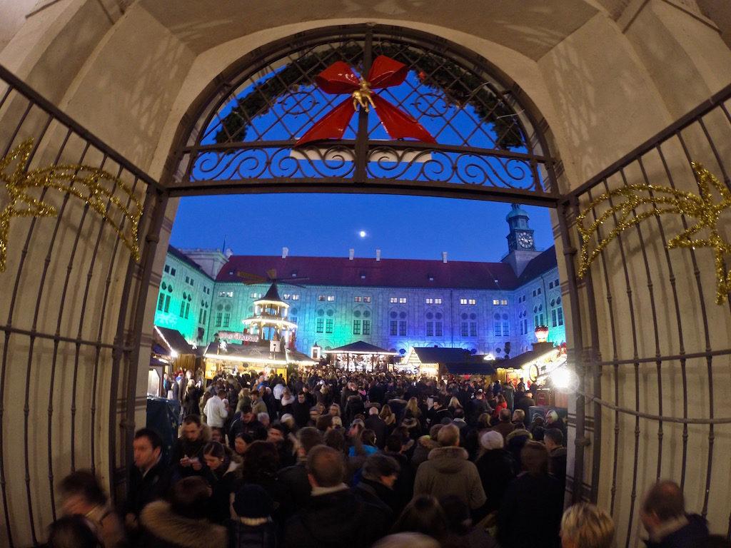 Residenz Christmas market in Munich