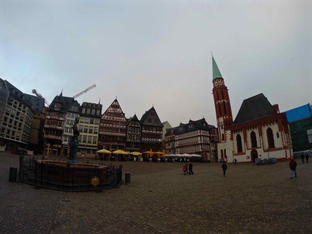 Beautiful old town in Frankfurt