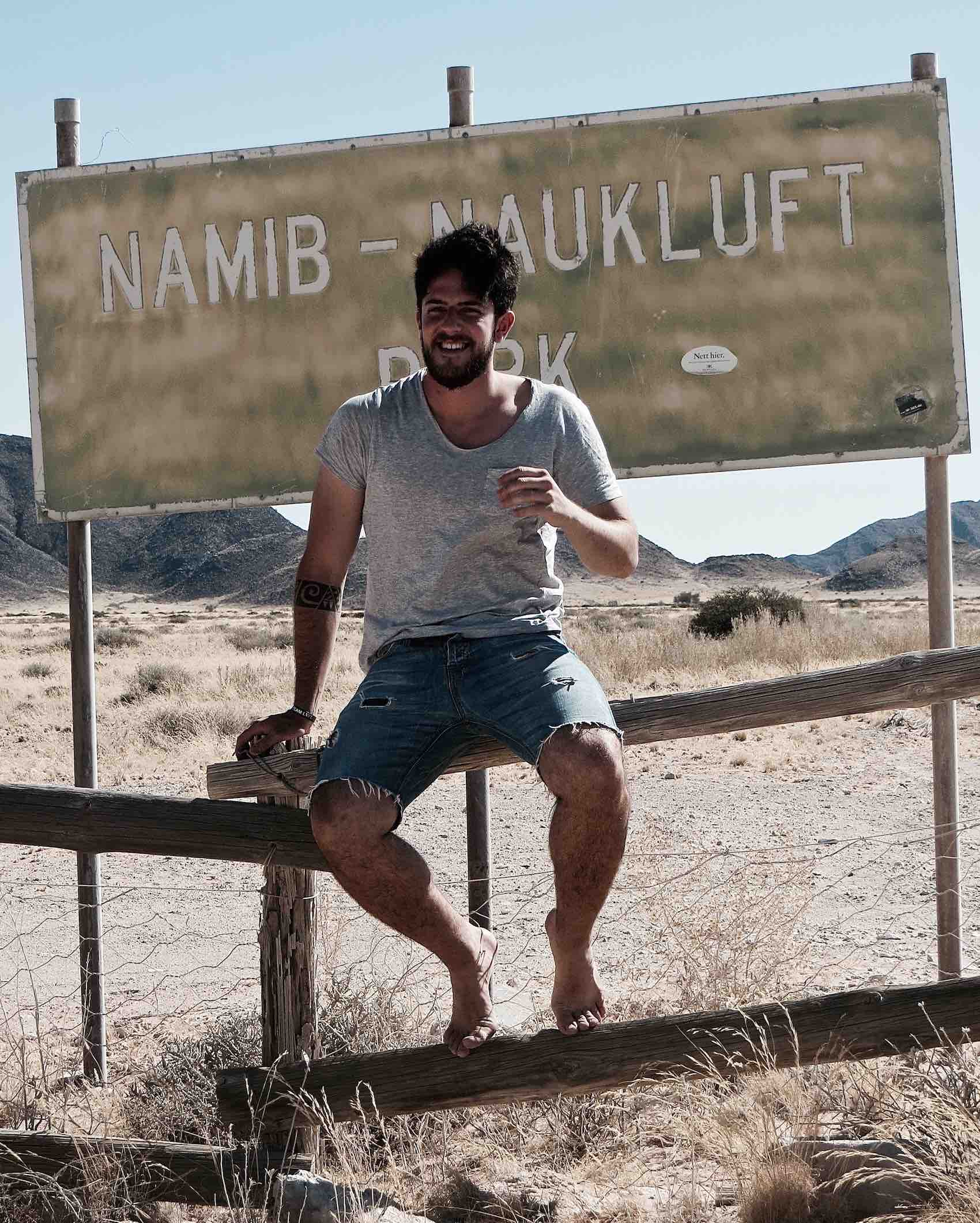 ITF in the Namib Desert in Namibia