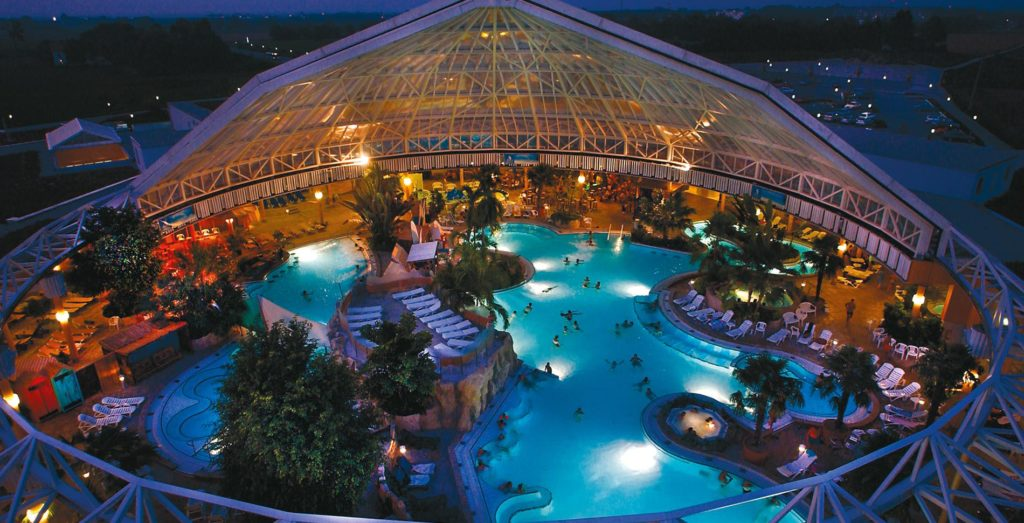 Relax and travel to Therme Erding in Germany