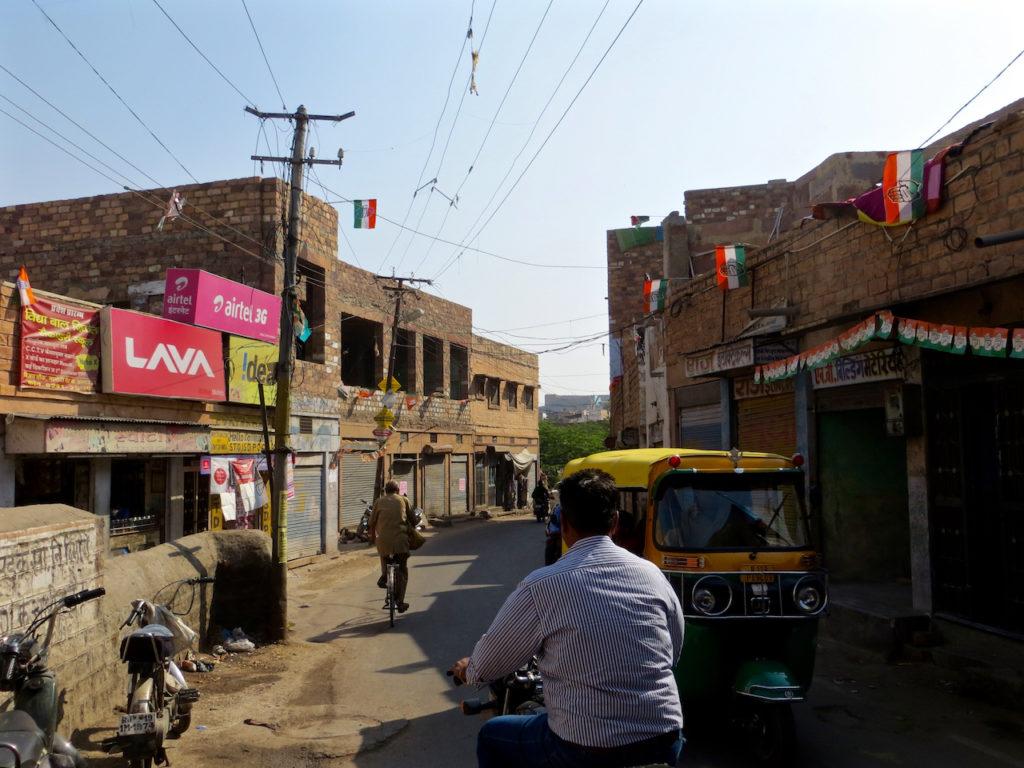 STREET OF MEHRANGARH FORT