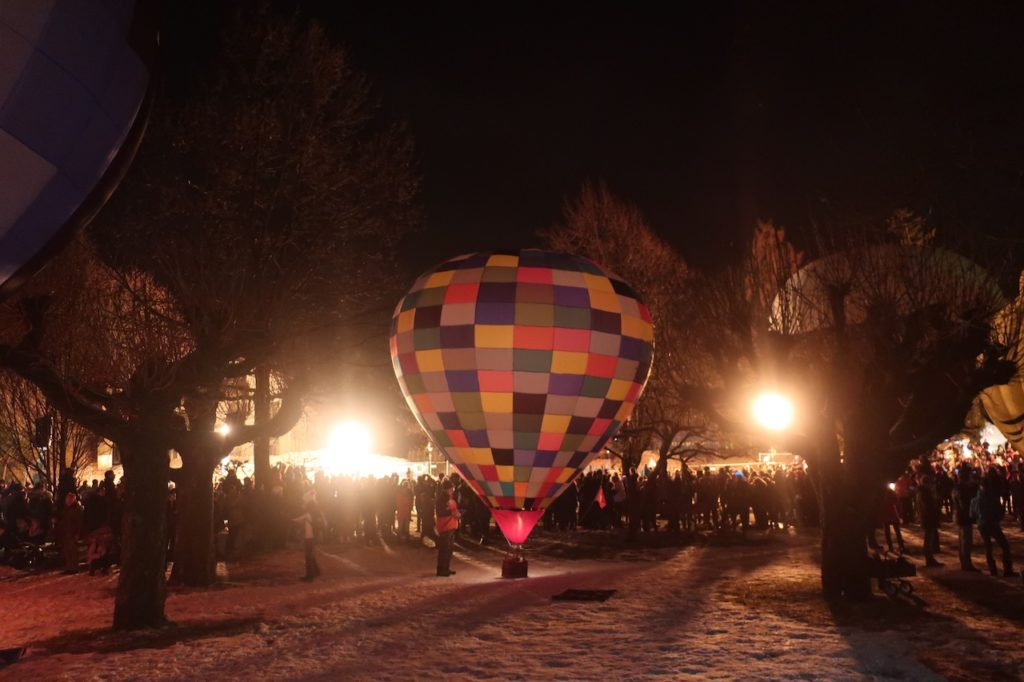 MONTGOLFIADE - UNIQUE HOT BALLOON EVENT AT TEGERNSEE