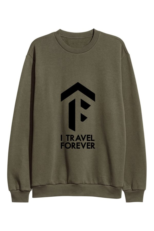sweatshirt-travel-light khaki