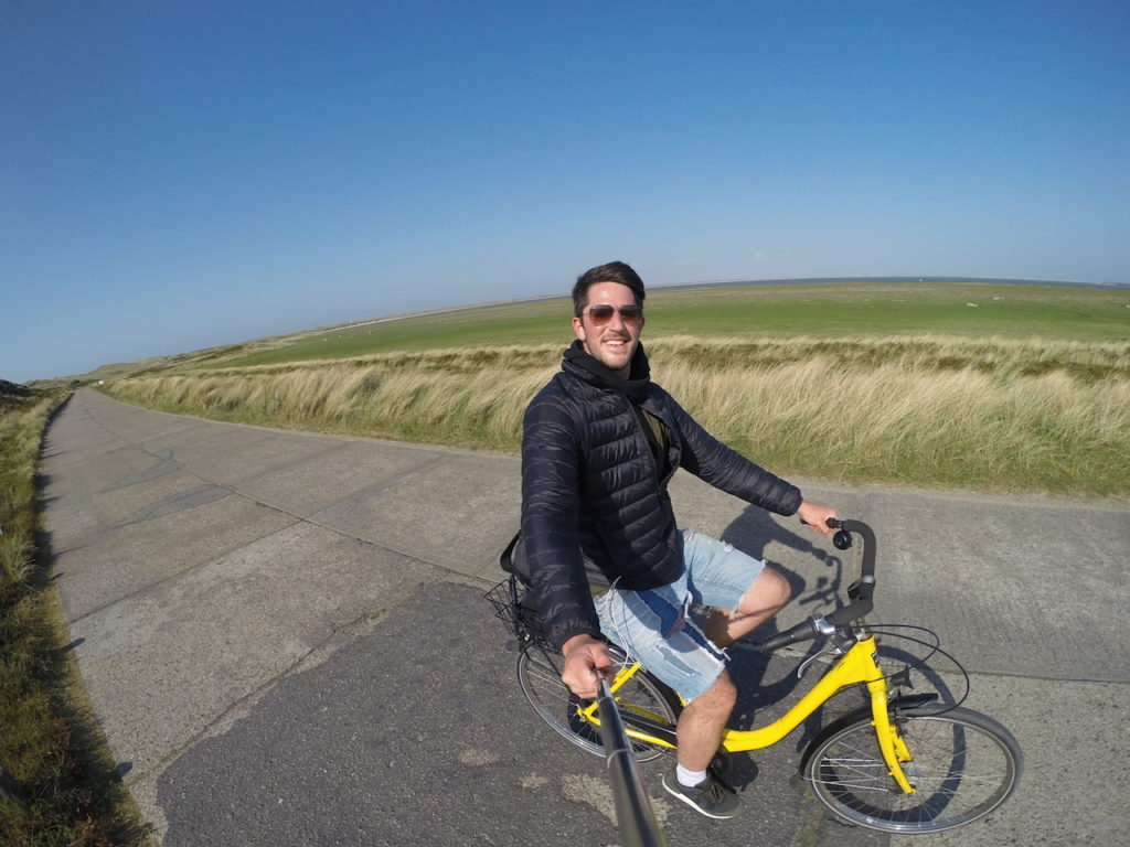 cycle riding SYLT ISLAND