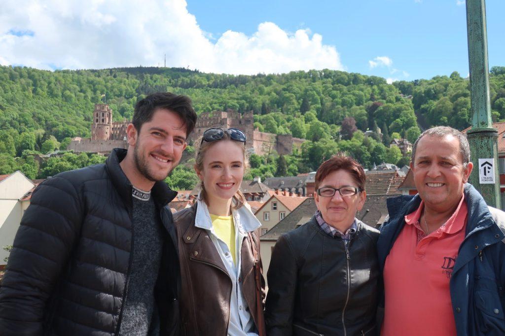 GROUP PHOTO IN HEIDELBERG