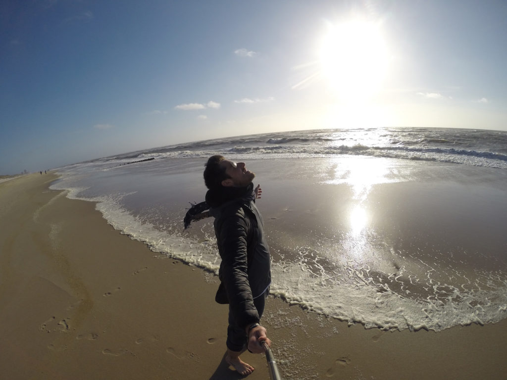 BEST PLACES TO TRAVEL OF SYLT ISLAND SELFIE