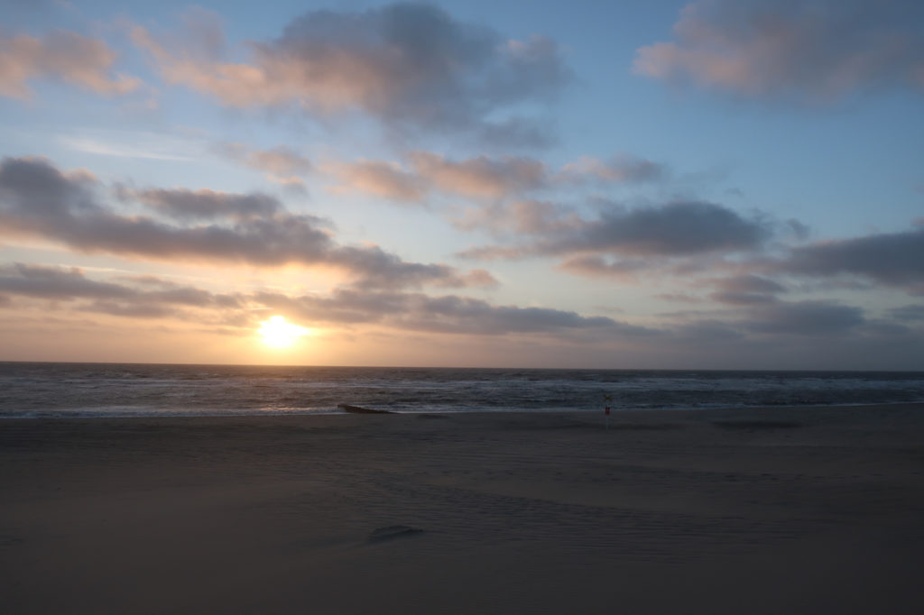 SUNSET AT SYLT ISLAND