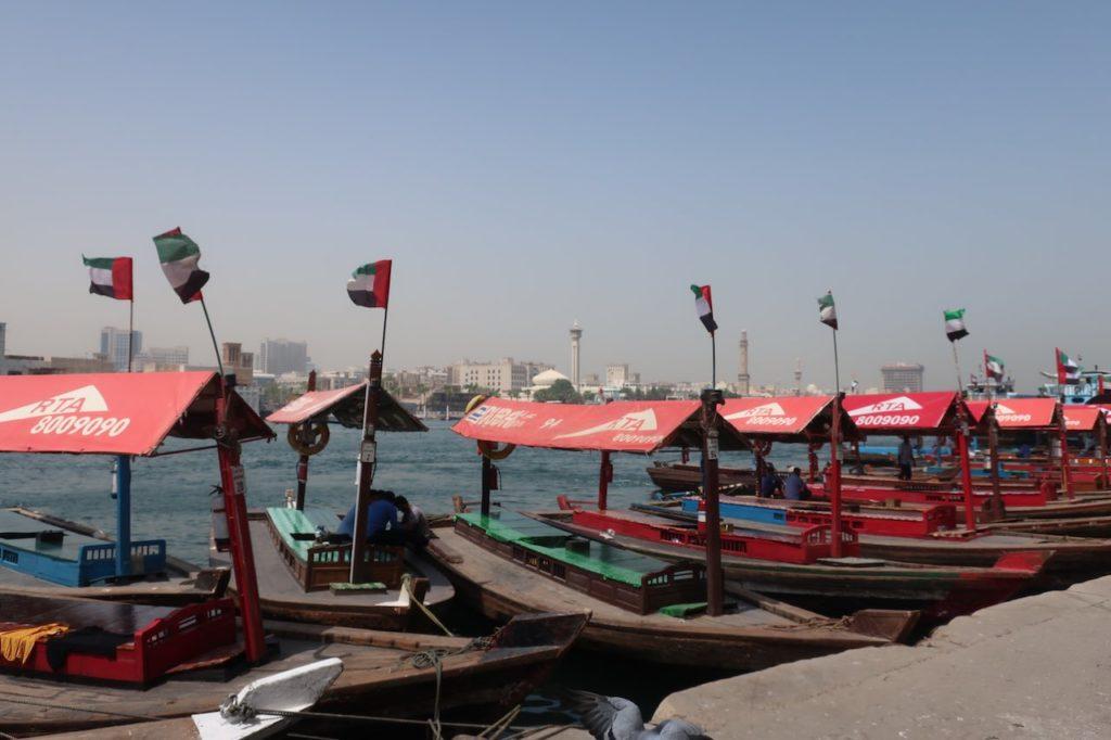 boating in dubai