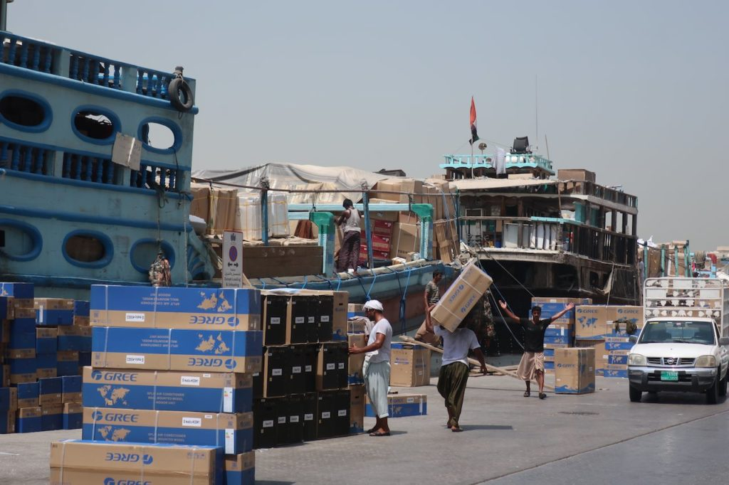 Dubai parcel service