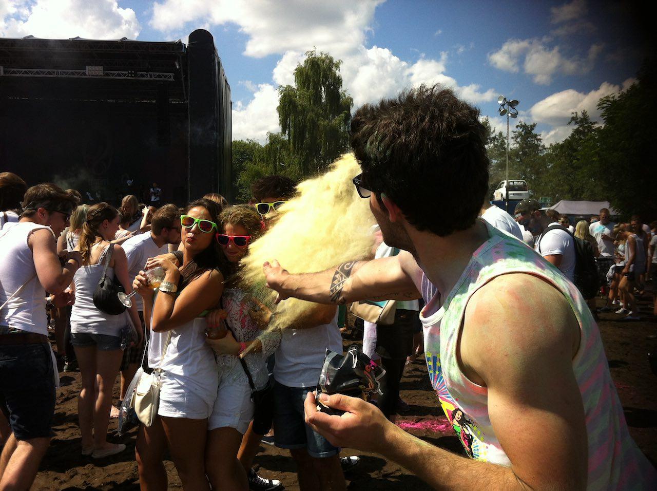 holi festival gießen