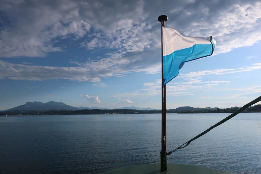 chiemsee lake flag