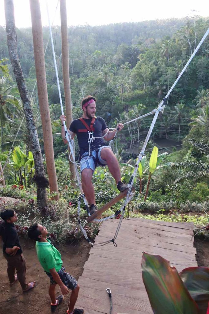 like to swing in Ubud